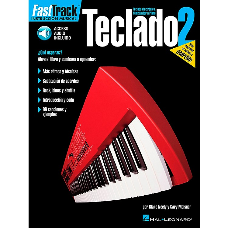 Hal Leonard FastTrack Keyboard Method Book 2 Book/CD - Spanish Edition