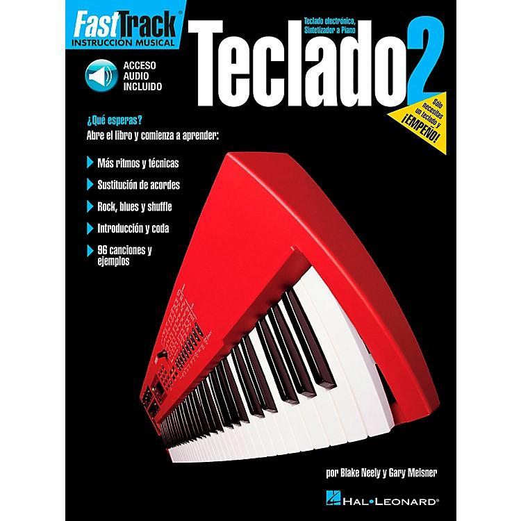 Hal LeonardFastTrack Keyboard Method Book 2 Book/CD - Spanish Edition