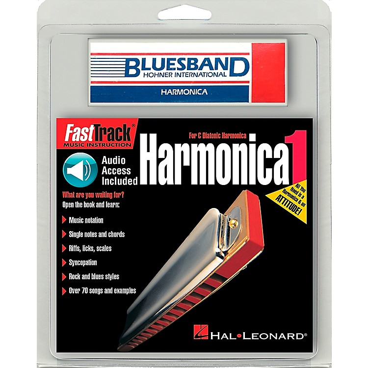 Hal LeonardFastTrack Mini Harmonica Mini Pack