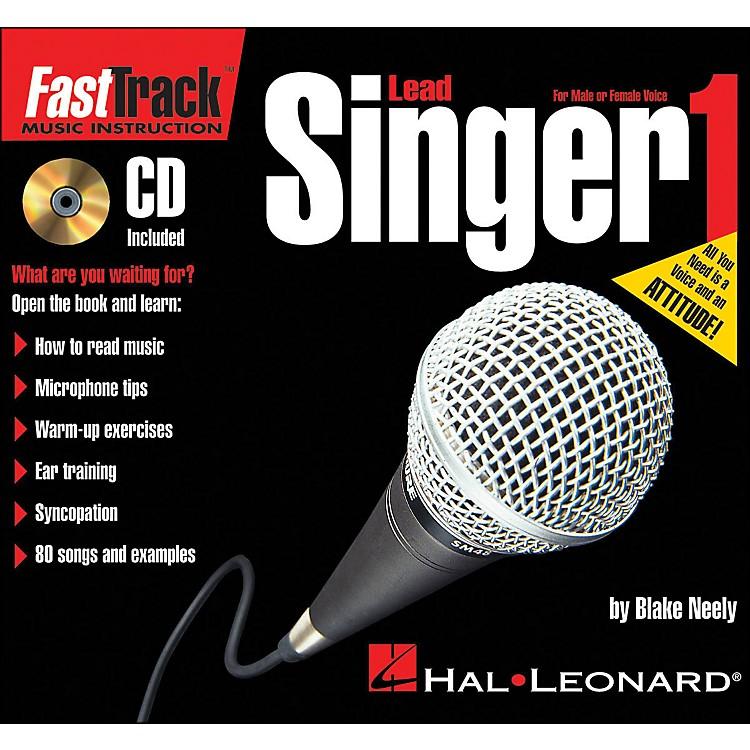 Hal LeonardFastTrack Mini Lead Singer Method Book 1 Book/CD