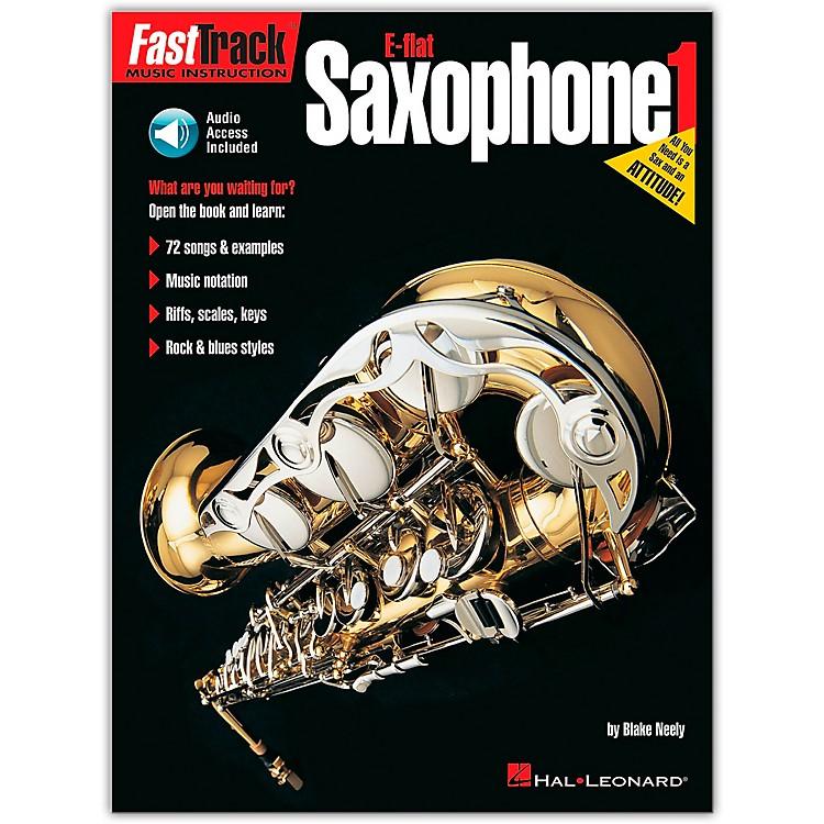 Hal LeonardFastTrack for E Flat Alto Saxophone Book 1 Book/CD