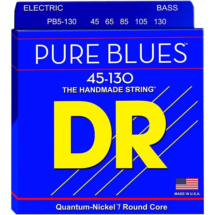 DR StringsFat-Beams Stainless Steel Medium 5-String Bass Strings (45-130)