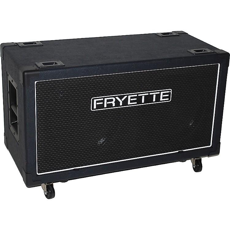 FryetteFatBottom FB212-P50E 100W 2x12 Low Profile Speaker Cabinet