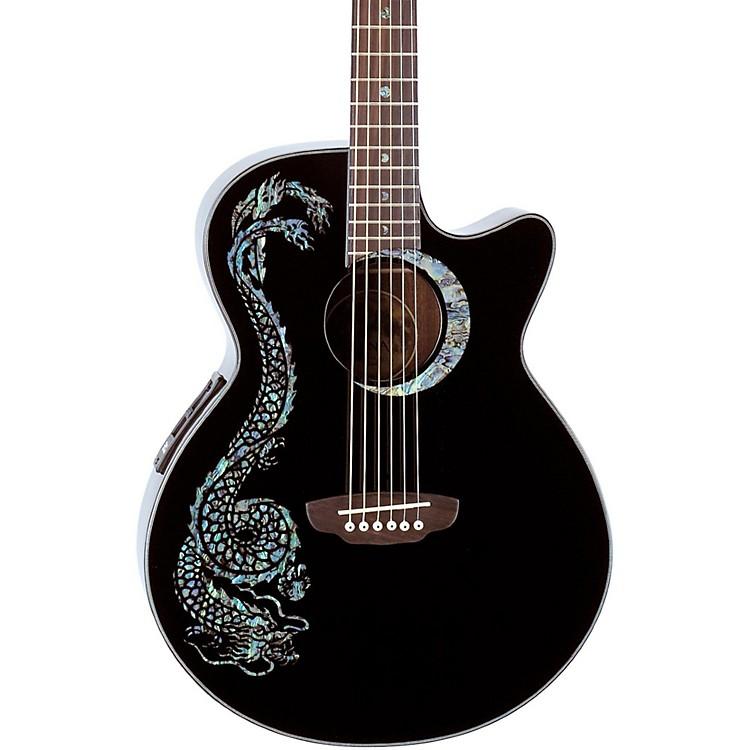 Luna GuitarsFauna Dragon Folk Acoustic-Electric Guitar