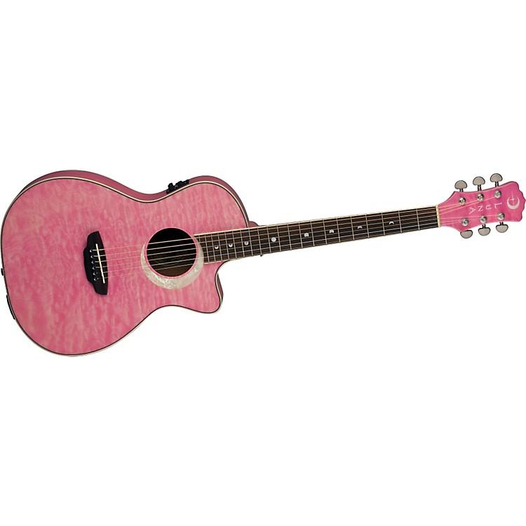 Luna GuitarsFauna Eclipse Parlor Acoustic-Electric Guitar