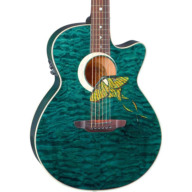 Luna Guitars Fauna Series Folk Acoustic-Electric Guitar