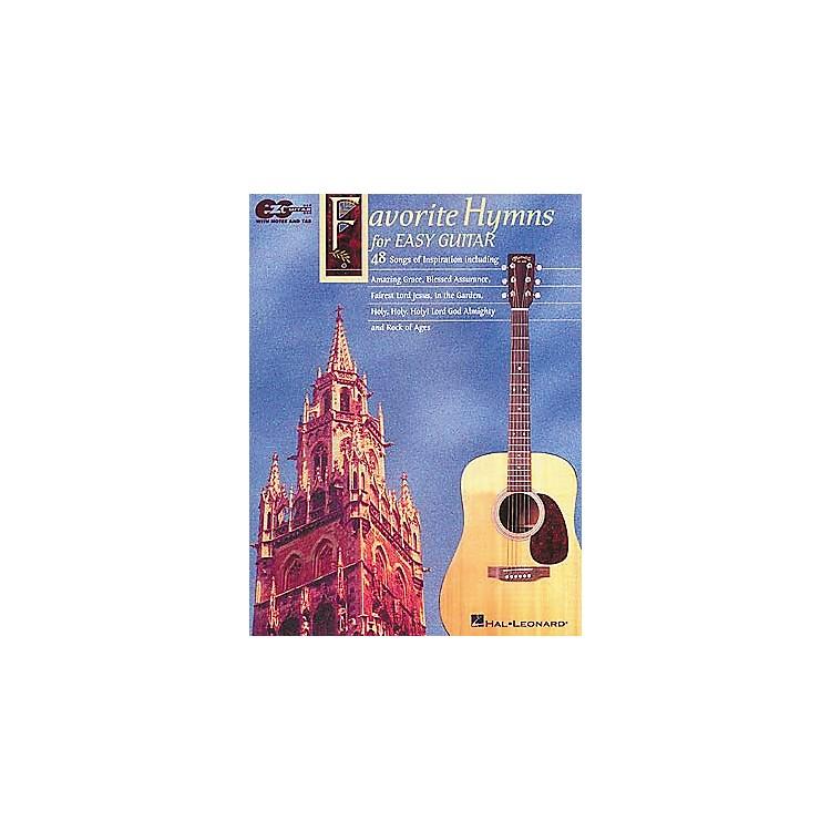 Hal LeonardFavorite Hymns for Easy Guitar Tab Book