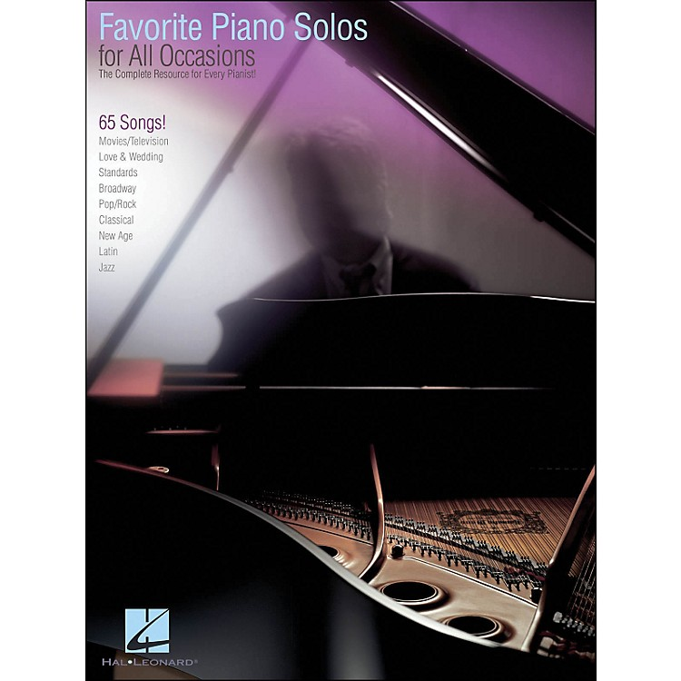 Hal Leonard Favorite Piano Solos for All Occasions