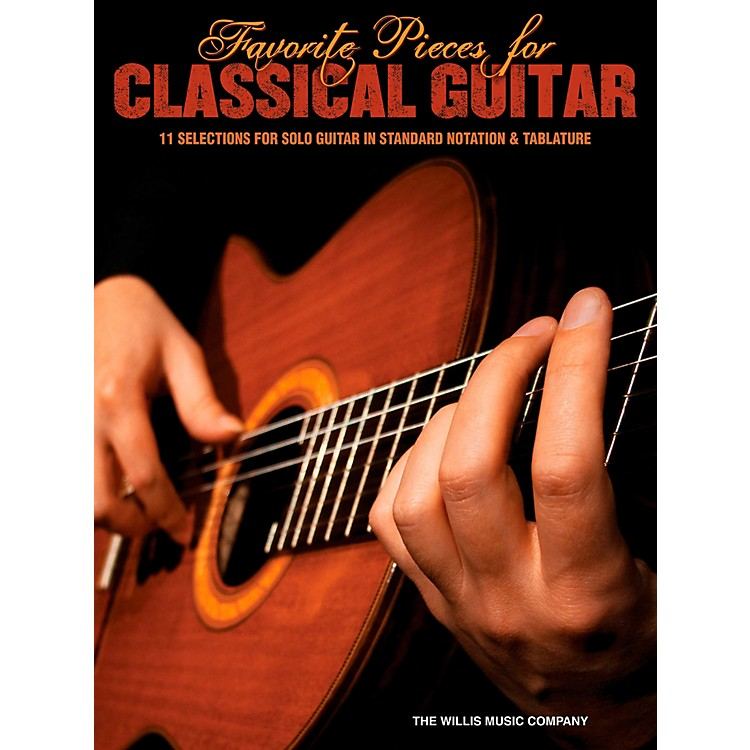Hal LeonardFavorite Pieces For Classical Guitar  Solo Guitar with Tab