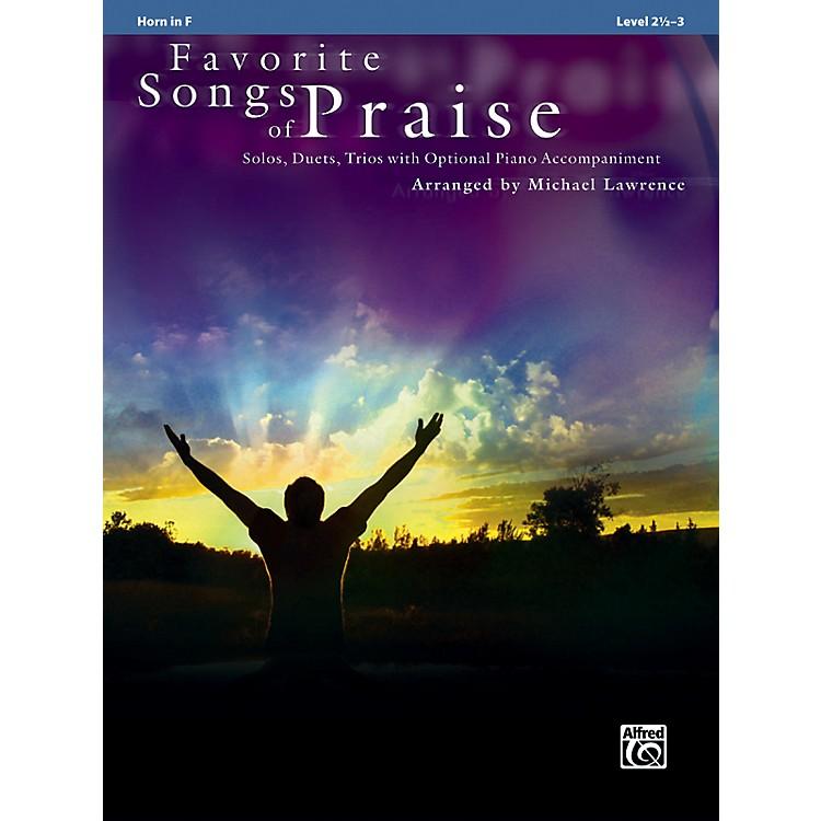 AlfredFavorite Songs of Praise (Horn in F Version)