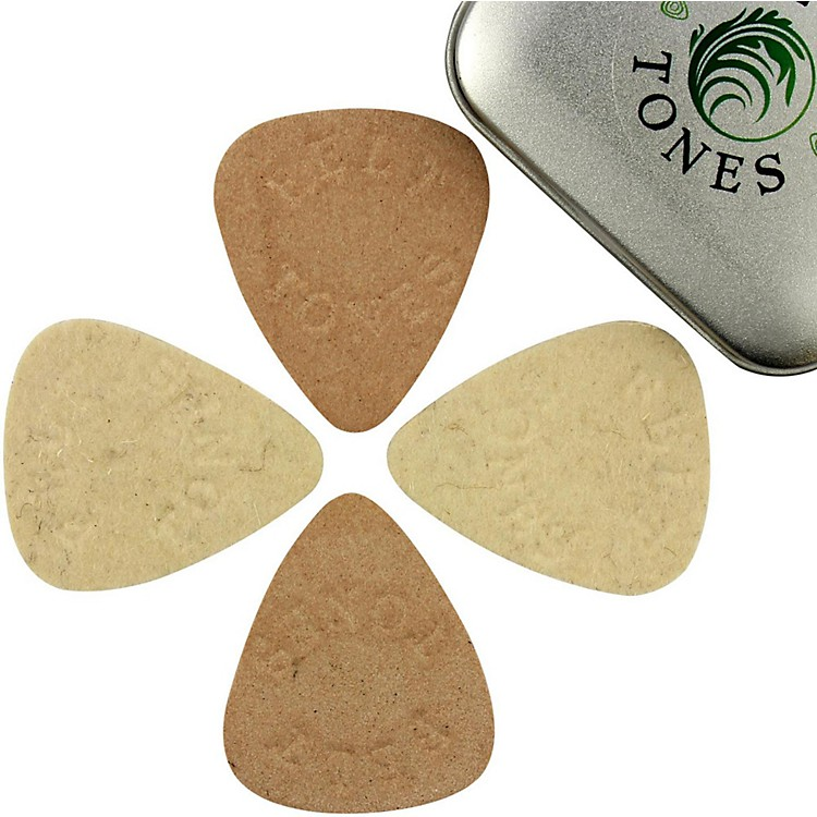 Timber TonesFelt Tones Mixed Tin of 4 Guitar Picks