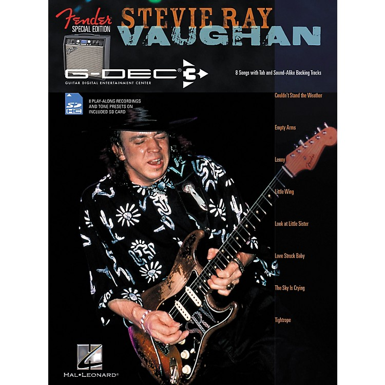 Hal Leonard Fender G-Dec Edition Stevie Ray Vaughan Guitar Play-Along Songbook/SD Card