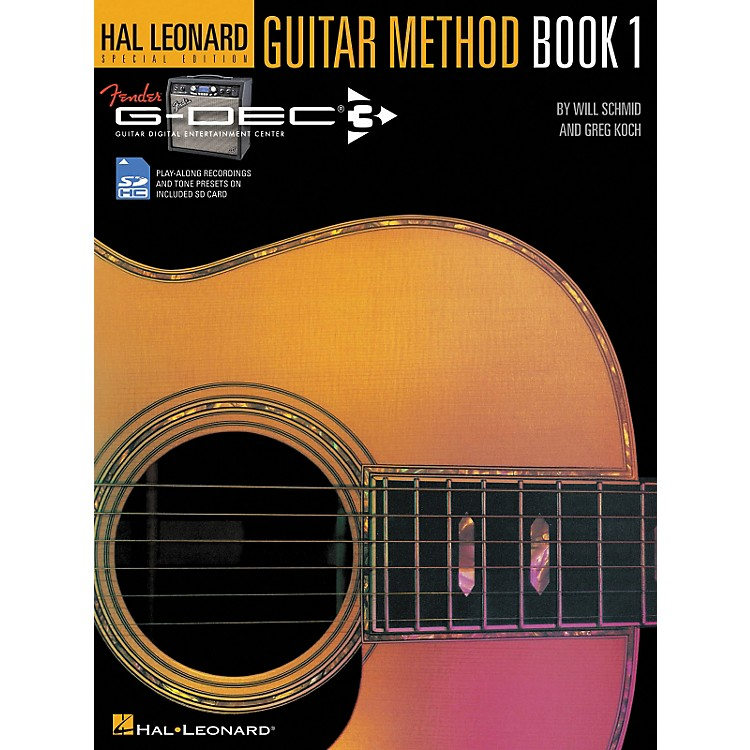 Hal Leonard Fender G-Dec Hal Leonard Guitar Method Book/SD Card