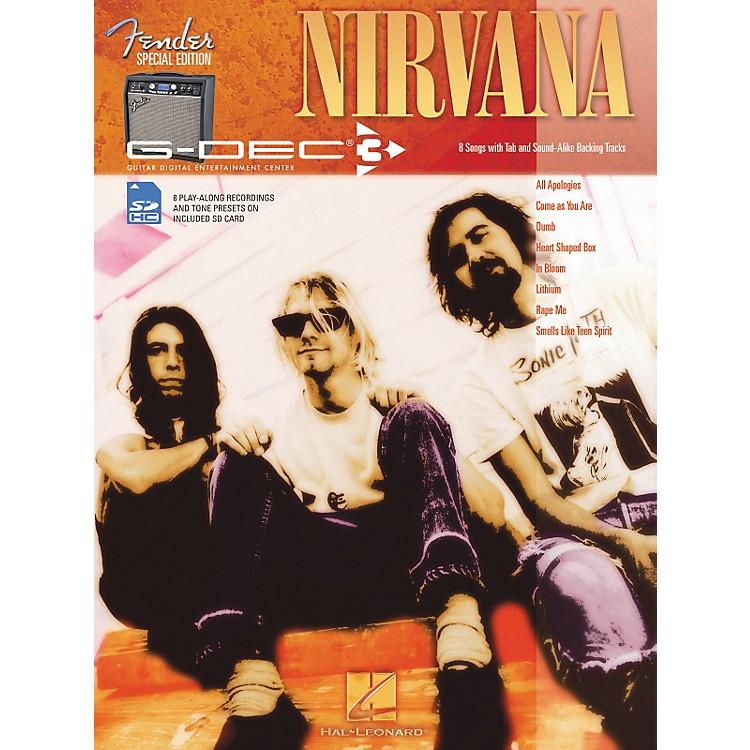 Hal LeonardFender G-Dec Nirvana Guitar Play-Along Songbook/SD Card