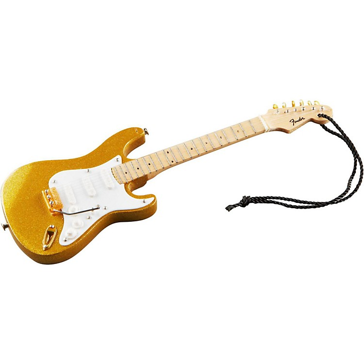 Axe HeavenFender Gold '50s Strat 6-Inch Holiday Ornament