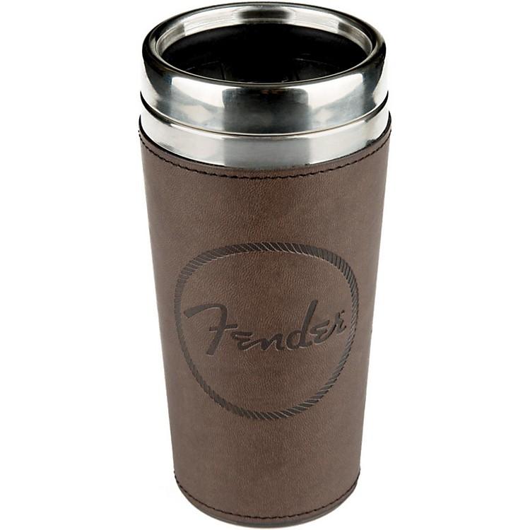 FenderFender Old West Travel Mug - Brown Leather