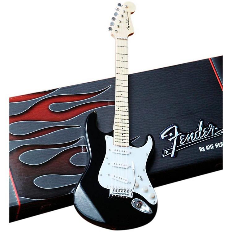 Axe HeavenFender Stratocaster Classic Black Miniature Guitar Replica Collectible