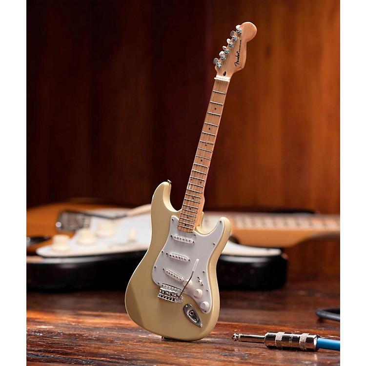 Axe HeavenFender Stratocaster Classic Cream Miniature Guitar Replica Collectible