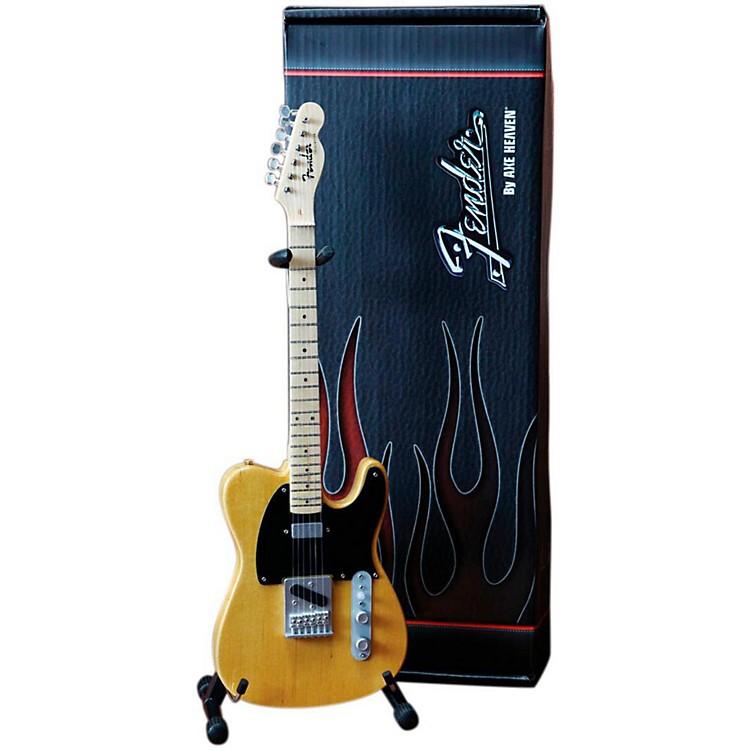 Axe HeavenFender Telecaster Butterscotch Blonde Miniature Guitar Replica Collectible