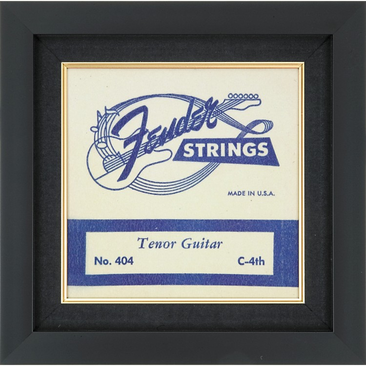 Gear One Fender Tenor Guitar String Plaque