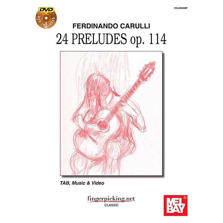 Mel BayFerdinando Carulli: 24 Pruludes op. 114