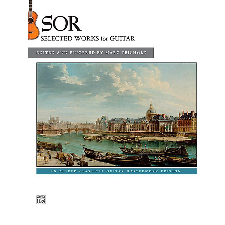 AlfredFernando Sor Selected Works for Guitar Book
