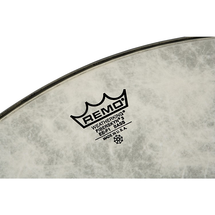 Remo FiberSkyn 3 EE Heavy Bass Drum Head 40 in.