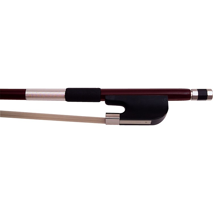Glasser Fiberglass Bass Bow with Wire Grip French 1/8 Size