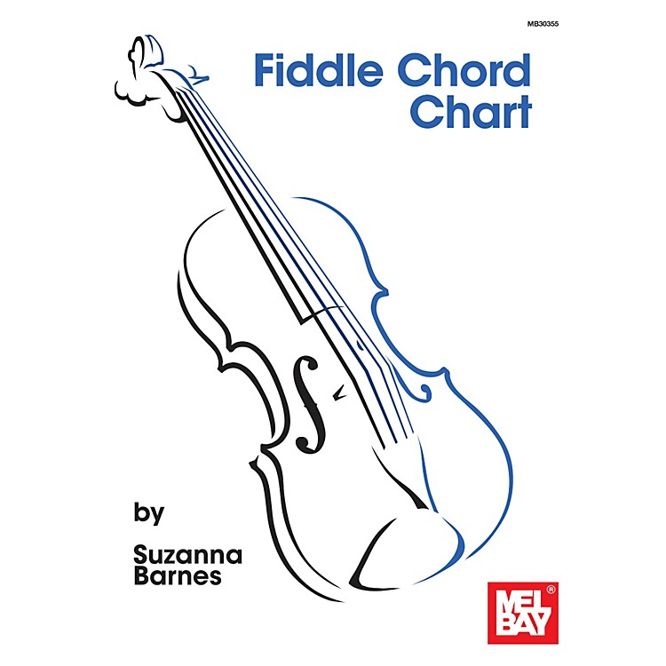 Mel Bay Fiddle Chord Chart
