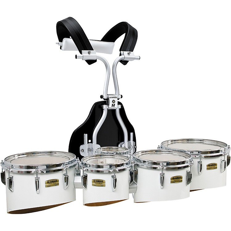 Yamaha Field-Corps 6, 10, 12, 13 Inch Quintet with RM-TVHBPT Biposto Carrier Black