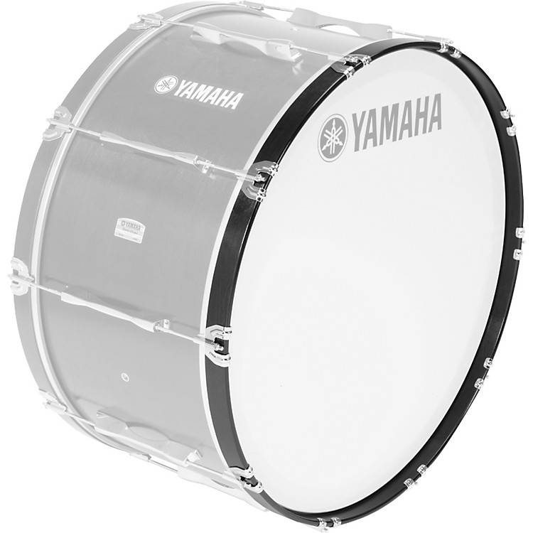 Yamaha Field Corps Marching Bass Drum Hoops U0072123 /20 Black Forest For Field Corps