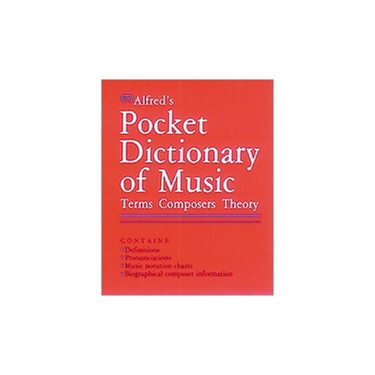 AlfredFieldstein Pocket Music Dictionary