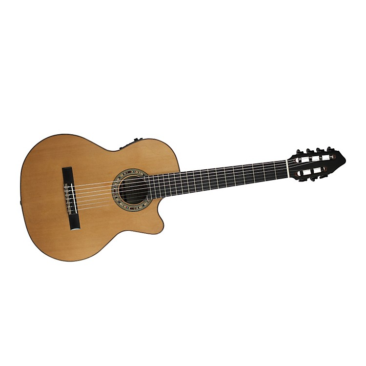 Kremona Fiesta CW-7 7-String Classical Acoustic-Electric Guitar