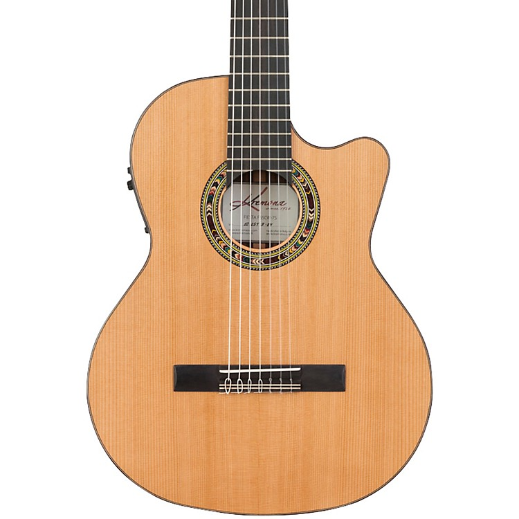 Kremona Fiesta CW-7 Classical Electric Guitar Gloss Natural