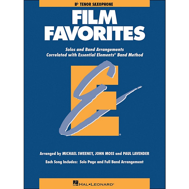 Hal Leonard Film Favorites B-Flat Tenor Saxophone