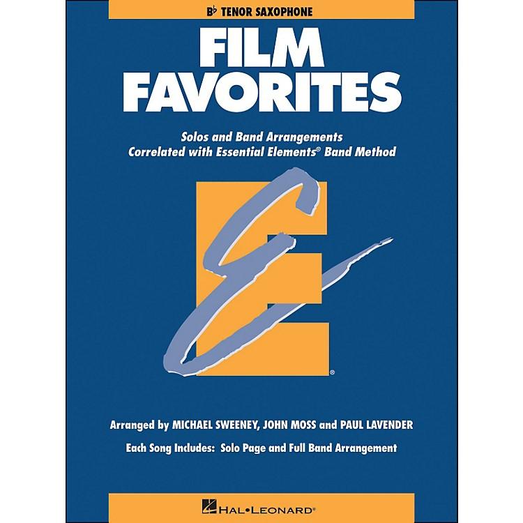 Hal LeonardFilm Favorites B-Flat Tenor Saxophone