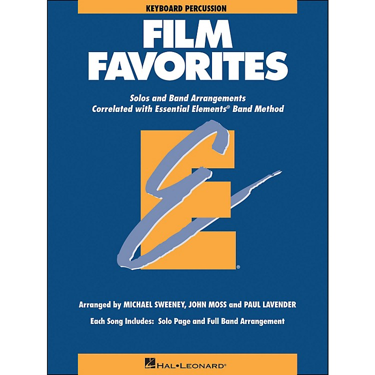 Hal Leonard Film Favorites Keyboard Percussion
