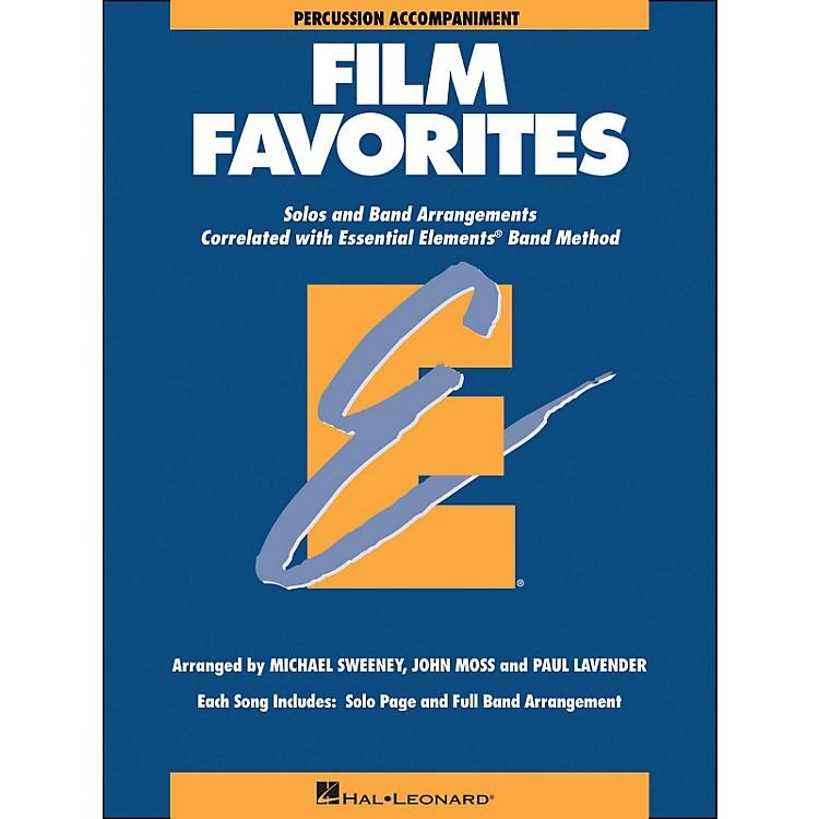 Hal LeonardFilm Favorites Percussion