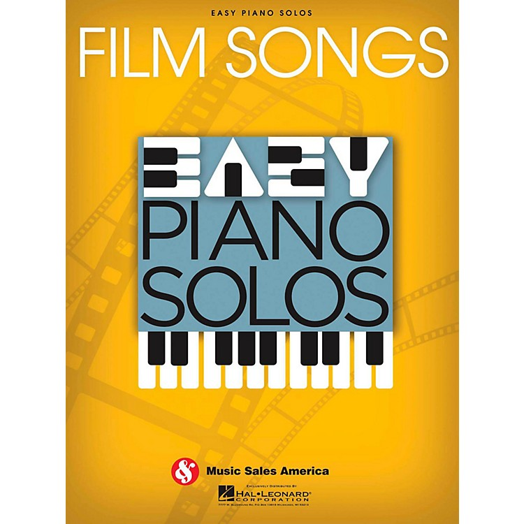 Music Sales Film Songs  Easy Piano Solos