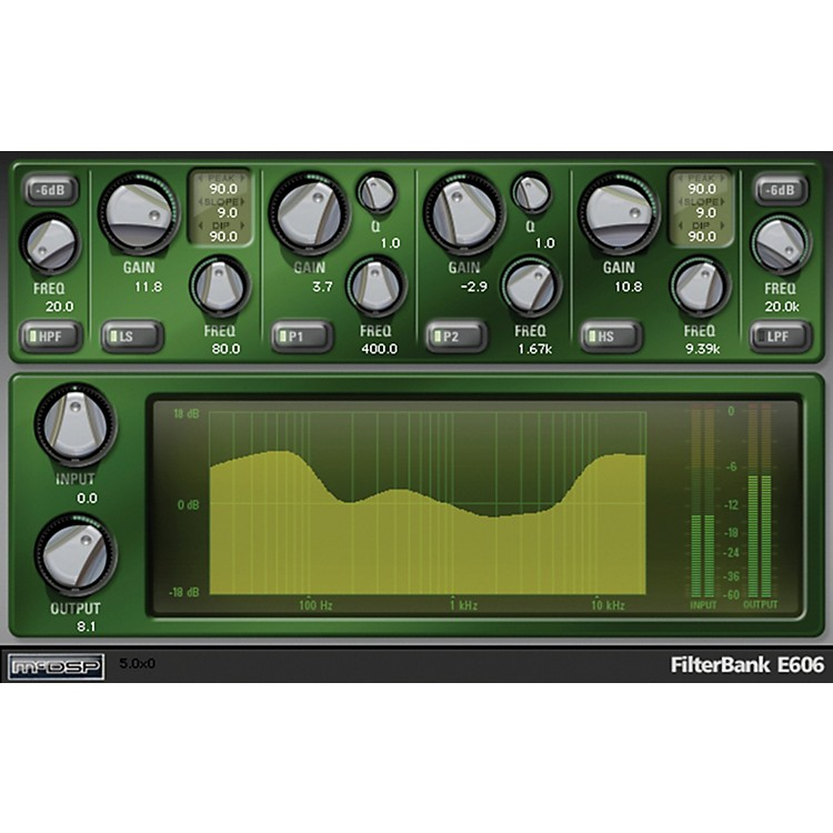 McDSP FilterBank HD v5 Software Download Software Download