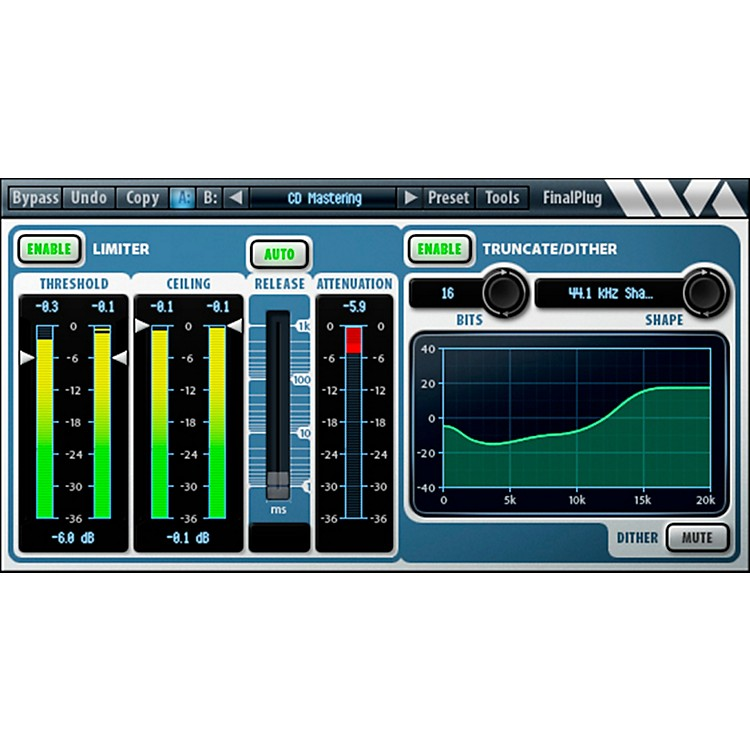 Wave Arts FinalPlug - AAX DSP Software Download
