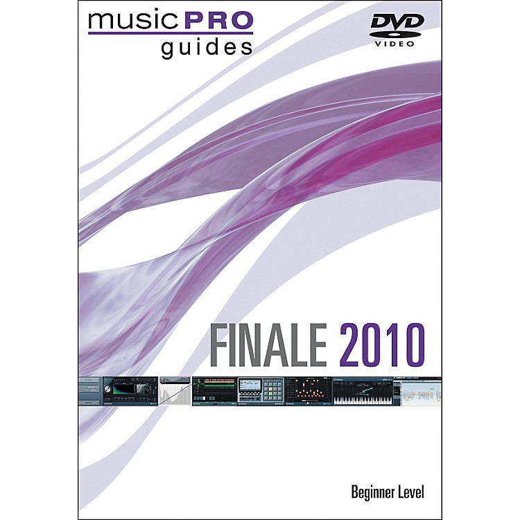 Hal Leonard Finale 2010 - Beginner Level (DVD)