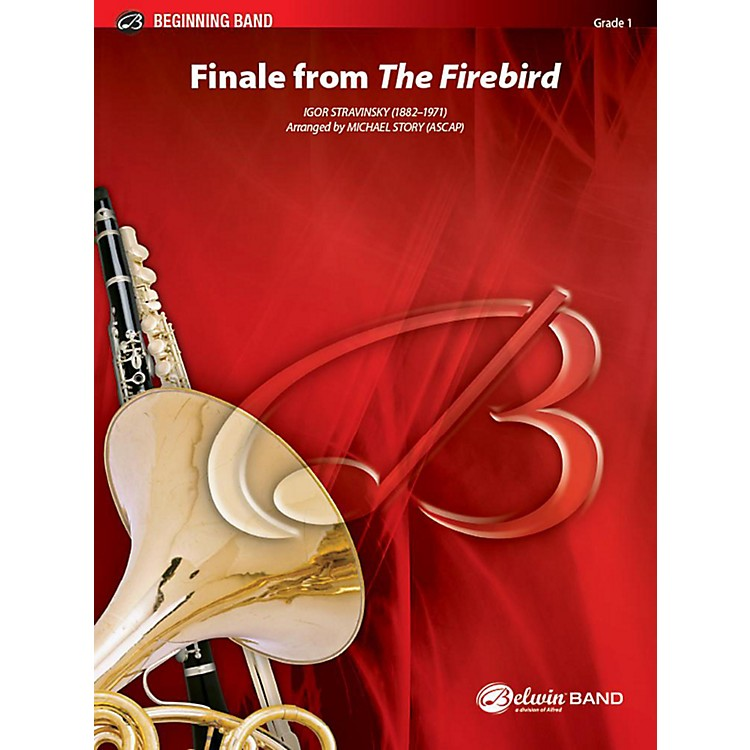 AlfredFinale from The Firebird Concert Band Grade 1 Set