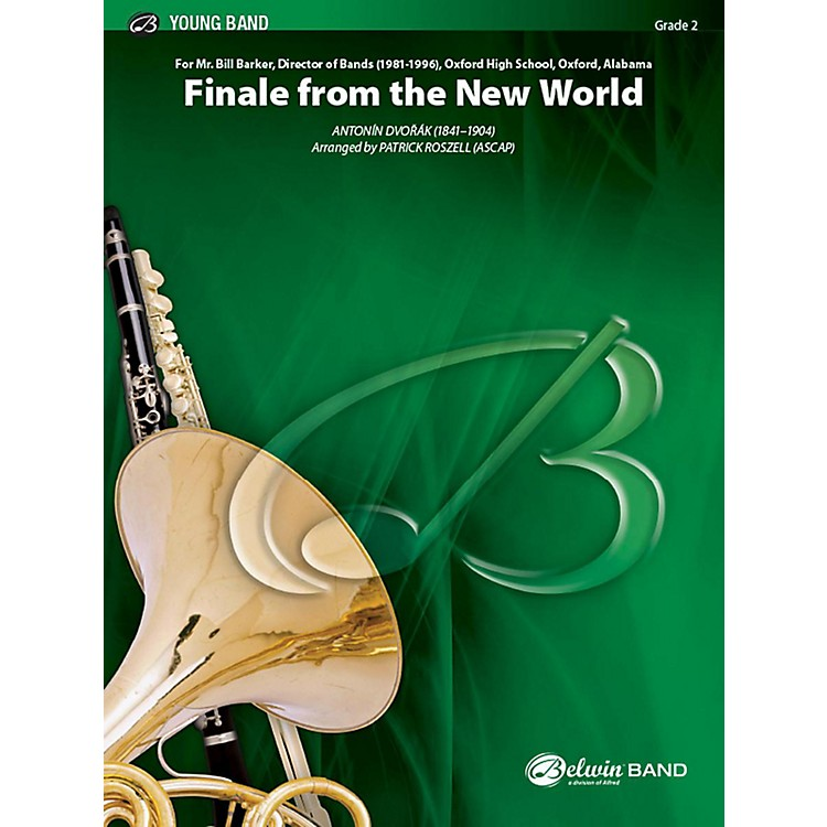 AlfredFinale from The New World Concert Band Grade 2 Set