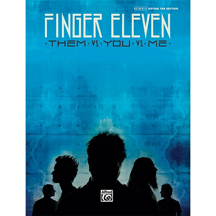AlfredFinger Eleven - Them vs. You vs. Me Guitar Tab