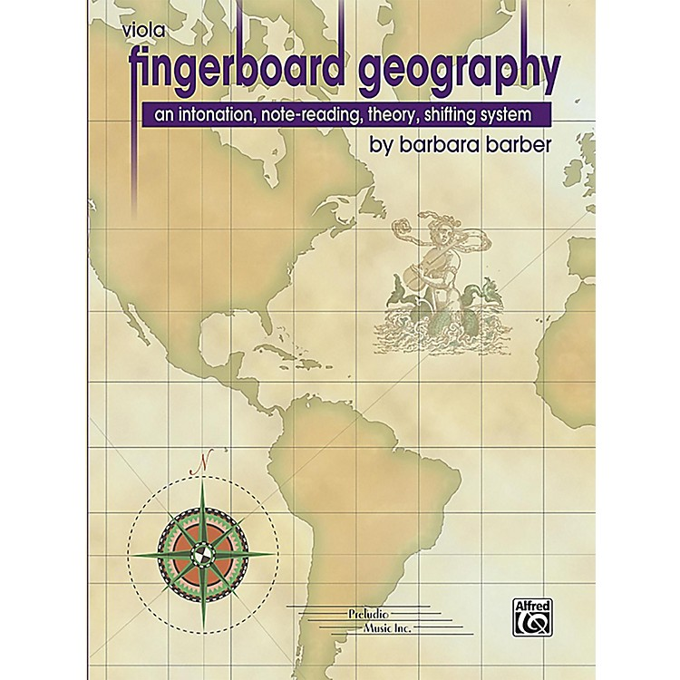 PRELUDIO Fingerboard Geography for Viola, Volume 1