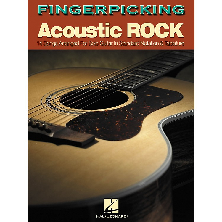 Hal Leonard Fingerpicking Acoustic Rock (Book)