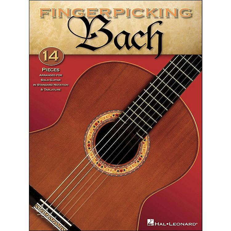 Hal LeonardFingerpicking Bach Solo Guitar