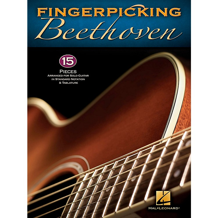 Hal Leonard Fingerpicking Beethoven for Solo Guitar - Standard Notation & Tab