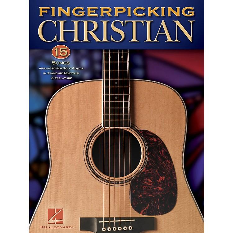 Hal LeonardFingerpicking Christian - 15 Songs Arranged For Solo Guitar In Standard Notation & Tab